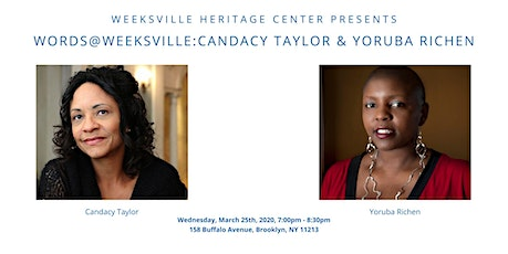 Words @ Weeksville: Candacy Taylor & Yoruba Richen tickets