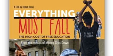 Everything Must Fall - Spring Film Series