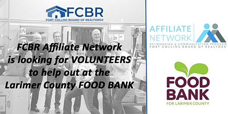 Food Bank for Larimer County Volunteer Opportunity tickets