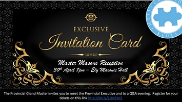 Provincial Grand Master's Master Mason Reception