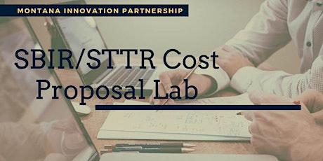Montana Innovation Partnership SBIR/STTR Cost Proposal Workshop tickets