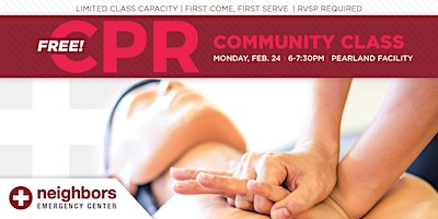 Free Community CPR Class - Pearland