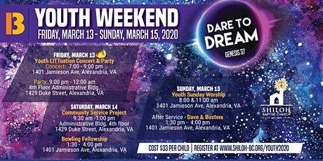 Shiloh Baptist Church Youth Weekend tickets