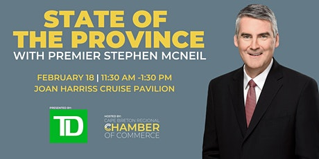 State of the Province with Premier Stephen McNeil: A Member-Exclusive Event tickets