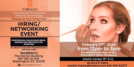 EMBACCI Networking & Hiring Event