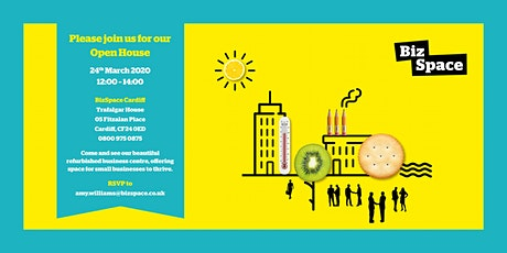 ===== OPEN HOUSE ===== Re-Launch: BizSpace Cardiff tickets