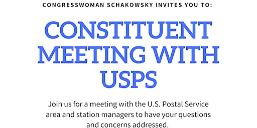 Constituent Meeting with USPS
