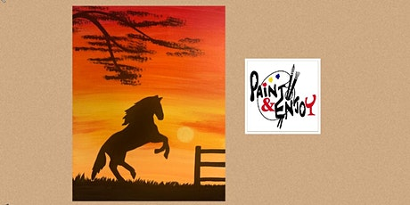 "Paint and Enjoy at Camp Hebron, Halifax ""Sunset"" tickets"