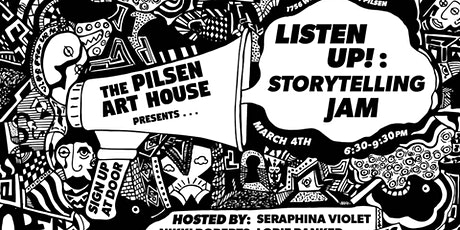 Listen Up! Storytelling Jam tickets