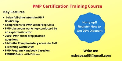 PMP Exam Prep Training in Brentwood, CA
