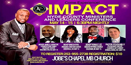 IMPACT: 2020 Ministers and Leaders Conference tickets