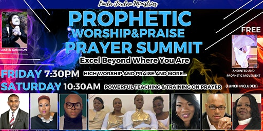 Prophetic Worship Praise & Prayer  -  Excel Beyond Where You Are...