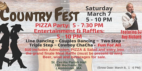 St. Cecilia's Country Fest 2020 tickets