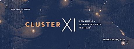 Cluster 2020: Warp / Weave tickets