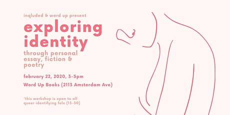 exploring identity: a free writing workshop for queer youth tickets