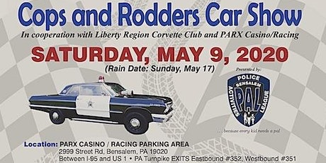 COPS AND RODDERS CAR SHOW…Not Your typical Car show tickets
