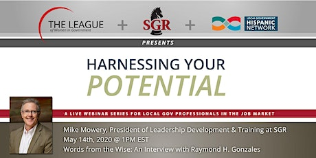 Harnessing Your Potential: An Interview with Raymond H. Gonzales tickets
