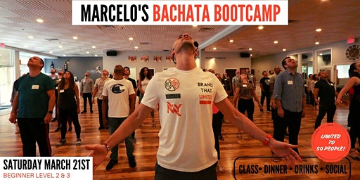 MARCH BACHATA BOOTCAMP (Beginner Levels II & III)