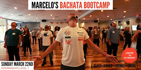MARCH BACHATA BOOTCAMP (Intermediate Level I) tickets