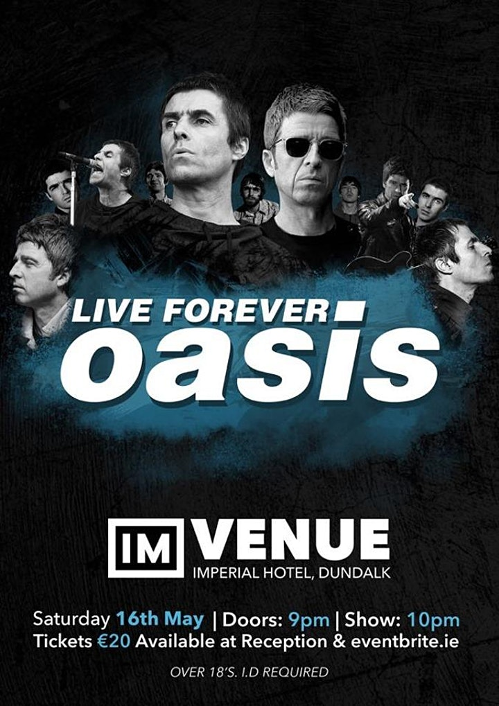 Oasis Tribute - Live Forever image