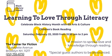 Learning to Love Through Literacy For Kids tickets
