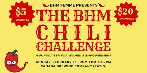 The BHM Chili Challenge