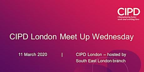 CIPD London Meet-up-Wednesday networking evening tickets