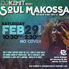 SOUL MAKOSSA feat. DJ KEMIT tickets