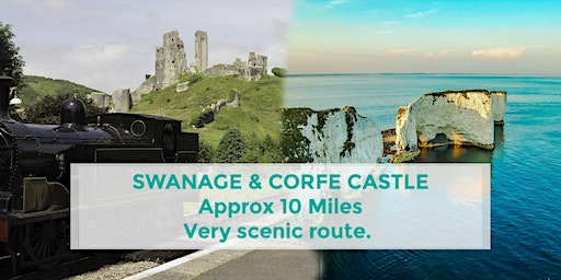 SWANAGE TO CORFE CASTLE VIA OLD HARRY ROCKS | DORSET