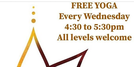 FREE Yoga Class - all levels welcome tickets