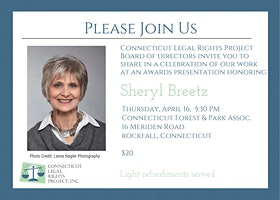 Connecticut Legal Rights Project: A Celebration of Our Work
