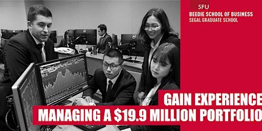 GAIN EXPERIENCE  MANAGING A $19.9 MILLION PORTFOLIO THROUGH THE MSC FINANCE