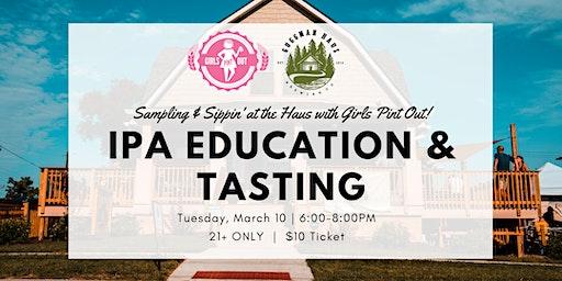 IPA Education & Tasting