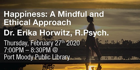 Psychology Month: Happiness: A Mindful and Ethical Approach tickets