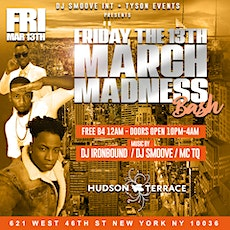 MARCH MADNESS NYC LGBTQ DANCE PARTY/FREE B4 12AM/10PM-4AM tickets