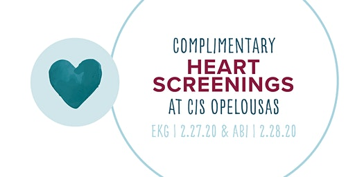 CIS Opelousas Free EKG Screening