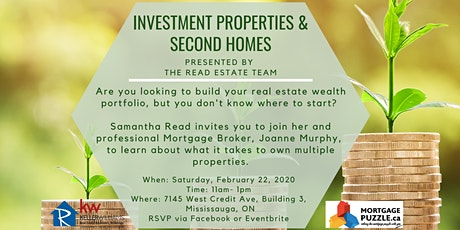 Investment Properties & Second Homes tickets