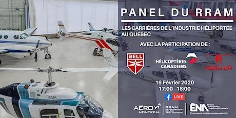 Panel sur les carrières dans l'industrie héliportée au Québec billets