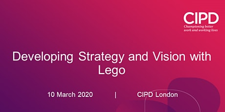 Developing Strategy and Vision with Lego tickets