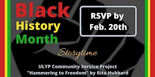 ULYP Black History Storytime