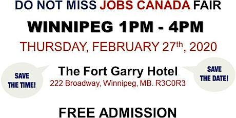 Winnipeg Job Fair - February 27, 2020 tickets