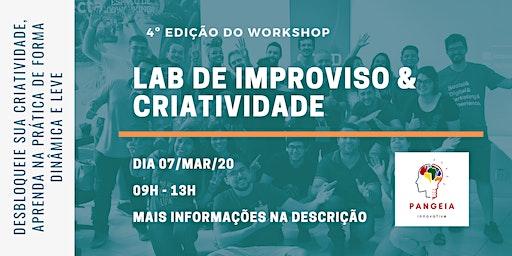 Laboratório de Improviso e Criatividade - 4ª Edição