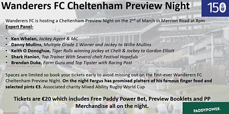 Wanderers FC Cheltenham Preview Night  tickets