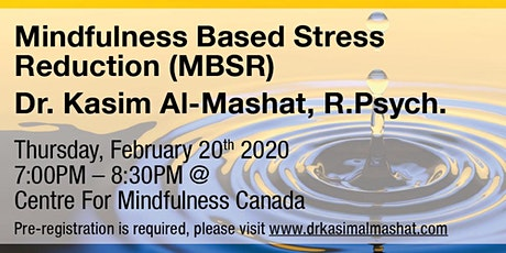 Psychology Month: Mindfulness Based Stress Reduction (MBSR) tickets
