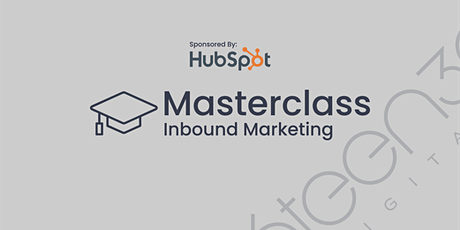 Inbound Marketing Masterclass - Sponsored By HubSpot tickets