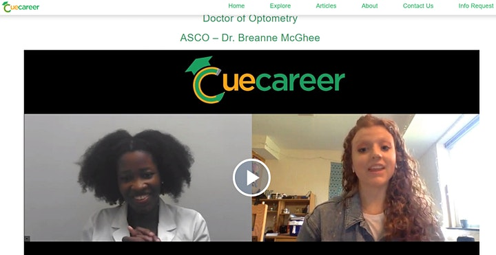 Career in the Classroom - by Cue Career - Medical/Health Sciences Track image