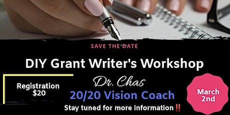 20/20 Vision Coaching DIY Grant Writing Workshop tickets