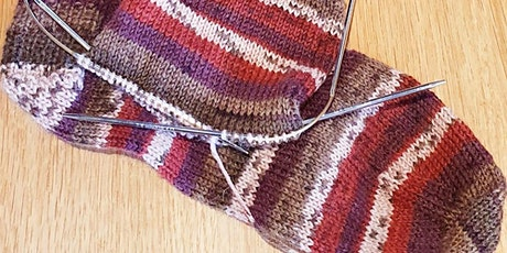 Sock knitting with Clare Hutchinson of Wee County Yarns tickets