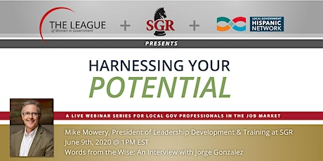 Harnessing Your Potential: An Interview with Jorge Gonzalez tickets