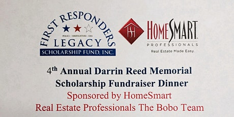 Date changed to 9/19.   4th Annual Dinner & Auction Darrin Reed Scholarship tickets